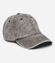 Load image into Gallery viewer, Vintage Cotton Twill Cap -side view