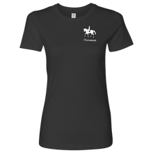 Load image into Gallery viewer, T-Shirt for Women - iDressage Series Collected Trot - Heavy Metal