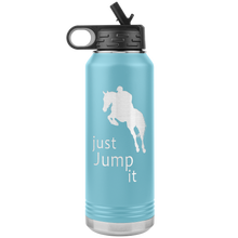 Load image into Gallery viewer, Just Jump It Water Bottle Tumbler