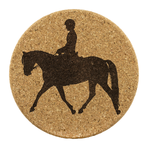 Cork Coasters: Dressage Working Trot - 3.75