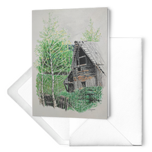 Load image into Gallery viewer, Barnscape Cards: Highroad History Old Barn | Color Pencil Artist Clare Hobson