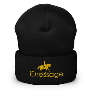 Stay warm with this exclusive iDressage Beanie - Black