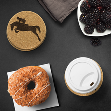 Load image into Gallery viewer, Protect your table with an Equestrian Themed Cork Coaster