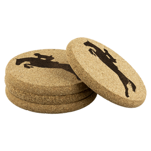 Cork Coasters: Jumper Form - Four per Package