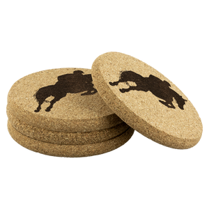 Cork Coasters: Jumper Classic sets of 4