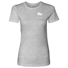 Load image into Gallery viewer, T-Shirt for Women - iDressage Series Collected Trot - Heather Grey