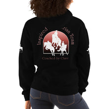 Load image into Gallery viewer, Inspired Equestrian Team - Unisex Hoodie - Coached by Clare