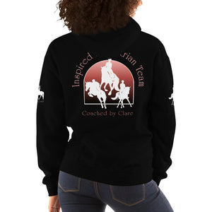 Inspired Equestrian Team - Unisex Hoodie - Coached by Clare
