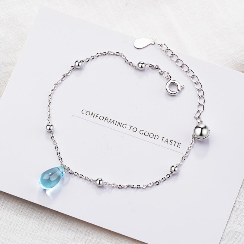 Korean Crystal Drop Bracelet
