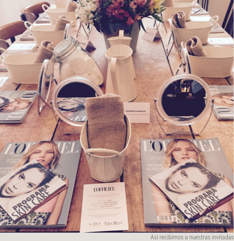Green Beauty Workshop - L'Officiel, GA'RA, Tina Belo