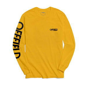 movement made happy | gold long-sleeve
