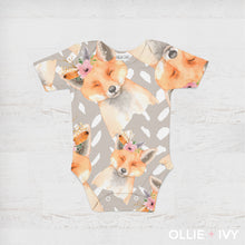 Load image into Gallery viewer, Bashful Fox Baby Apparel