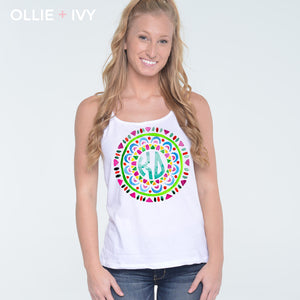 Colorful Mosaic Monogram Shirt