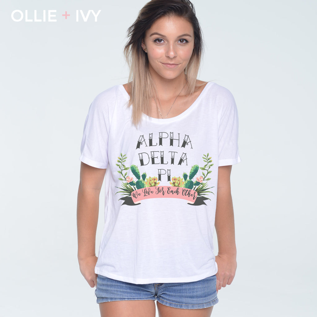 Elizabeth's Sophisticated Succulents Shirt