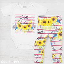 Load image into Gallery viewer, Hello Sunshine Baby Apparel
