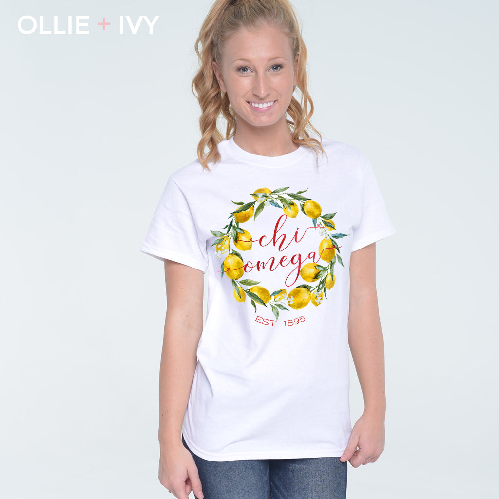 Jobelle's Lemon Wreath Shirt