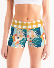 Load image into Gallery viewer, Modern Affinity Gingham Yoga Shorts
