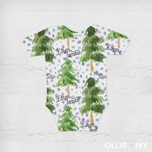 Load image into Gallery viewer, Magical Forest Baby Onesie
