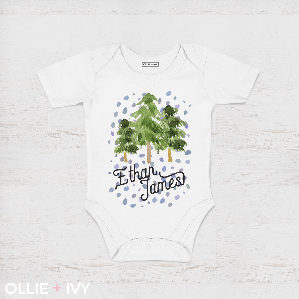 Magical Forest Baby Onesie