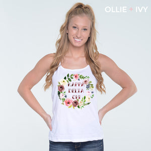 Nellie's Floral Wreath Shirt