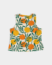 Load image into Gallery viewer, Orange Dream Women's Cropped Tank Top