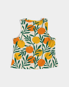 Orange Dream Women's Cropped Tank Top