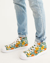 Load image into Gallery viewer, Orange Dream Men's High-Top Canvas Sneaker