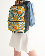 Load image into Gallery viewer, Orange Dream Small Canvas Backpack