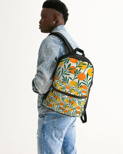 Orange Dream Small Canvas Backpack