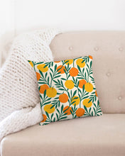Load image into Gallery viewer, Orange Dream Throw Pillow