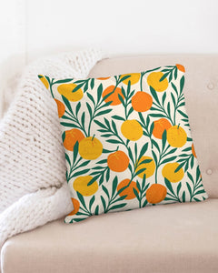 Orange Dream Throw Pillow