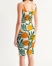 Load image into Gallery viewer, Orange Dream Women's Midi Bodycon Dress