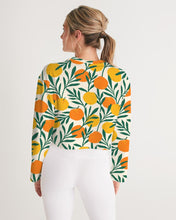 Load image into Gallery viewer, Orange Dream Cropped Sweatshirt