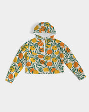 Load image into Gallery viewer, Orange Dream Cropped Windbreaker