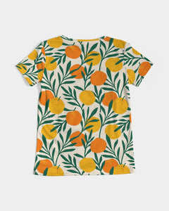 Orange Dream V-Neck Tee