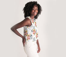 Load image into Gallery viewer, Opie Floral Cropped Tank Top