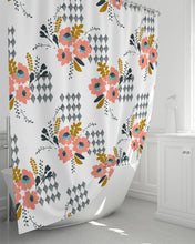 Load image into Gallery viewer, Opie Flower Shower Curtain