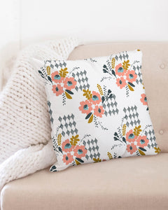 Opie Floral Throw Pillow