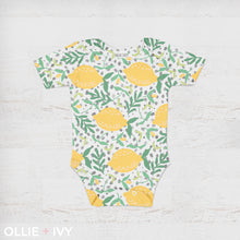 Load image into Gallery viewer, Sweet Lemon Drop Baby Onesie