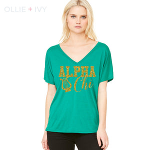 The Lyre of Love Shirt | Alpha Chi Omega