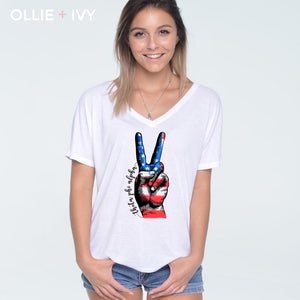 USA Peace Shirt