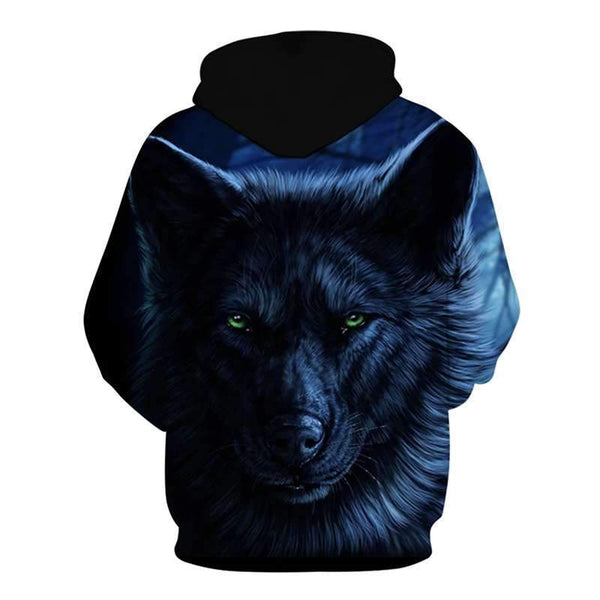 black wolf clothing