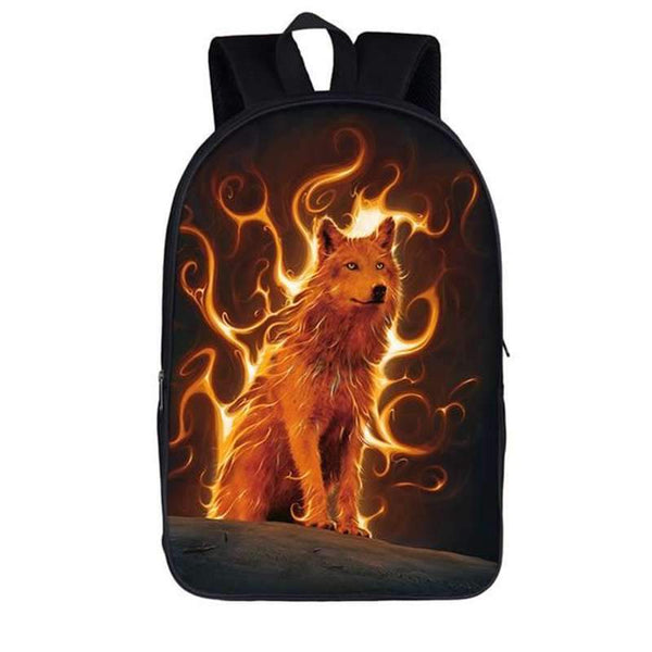 fire wolf backpack
