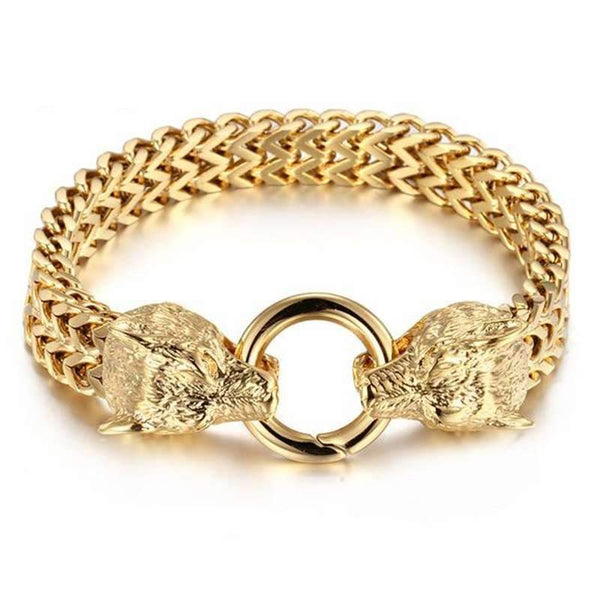 gold torc necklace
