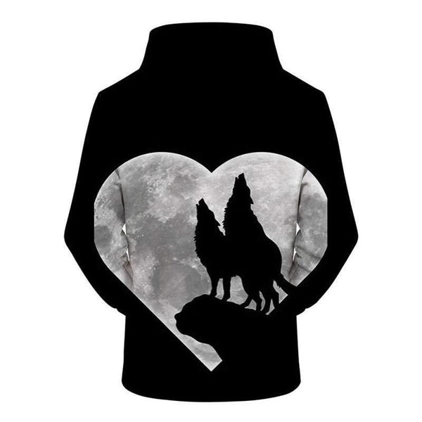 love wolves sweatshirt