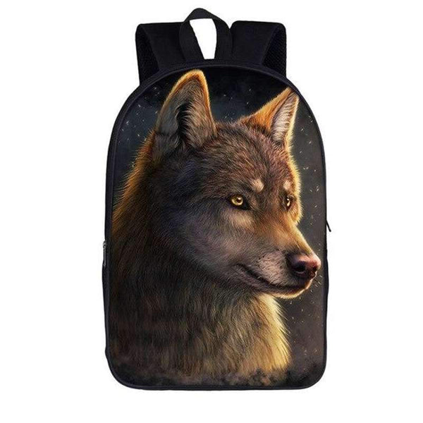 wolf backpack kids