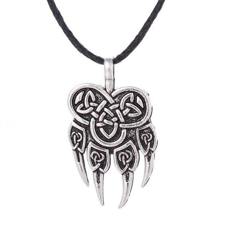 wolf claw pendant necklace