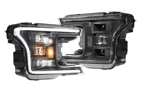 FORD F150 (18-20): XB HYBRID LED HEADLIGHTS
