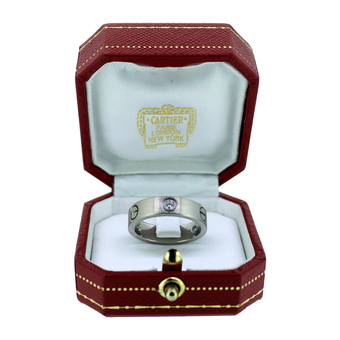 Cartier Ring Love 18K Witgoud