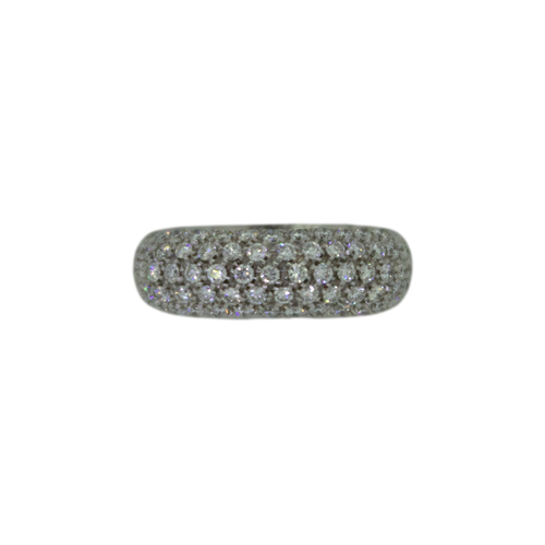 Witgouden Diamant Ring